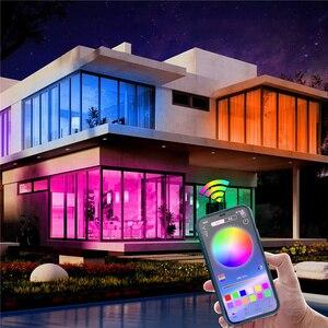 Светодиодная ленсветильник с Bluetooth, питание от USB, светодиодсветильник ленты с дистанционным управлением, RGB 2835, изменение цвета, светодиодная подсветильник ка для телевизора, для домашнего декора Светодиодные ленты      АлиЭкспресс