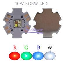 5050 RGBW 10W XML RGB + weiß licht High Power led-Diode Chip 4 Chips mit 20mm Stern PCB Board