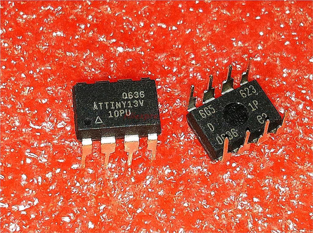 1pcs/lot ATTINY13V-10PU ATTINY13A-PU ATTINY13 ATTINY13A-PU ATTINY13A ATTINY13 13A-PU ATTINY13-20PU DIP-8 New Original In Stock