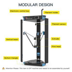 Image 3 - Anycubic Predator 3D Printer Grootste Katrol 370X370X455Mm Auto Leveling Grote Metalen 3D Printer Diy Kit impresora 3d