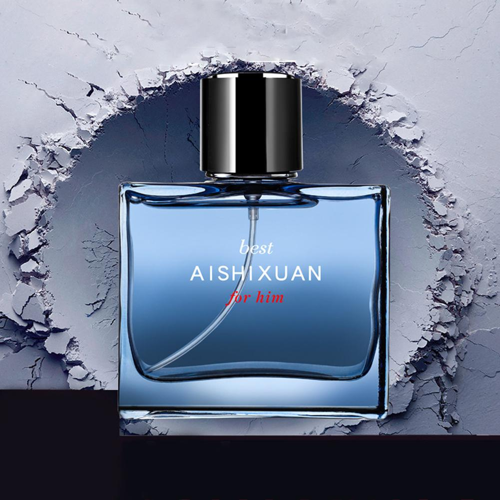 HobbyLane 50ml Perfume Long Lasting Men Perfume Deodorant Atomizer Bottle Glass Fashion Elegant Refreshing Flower Aromatic Water