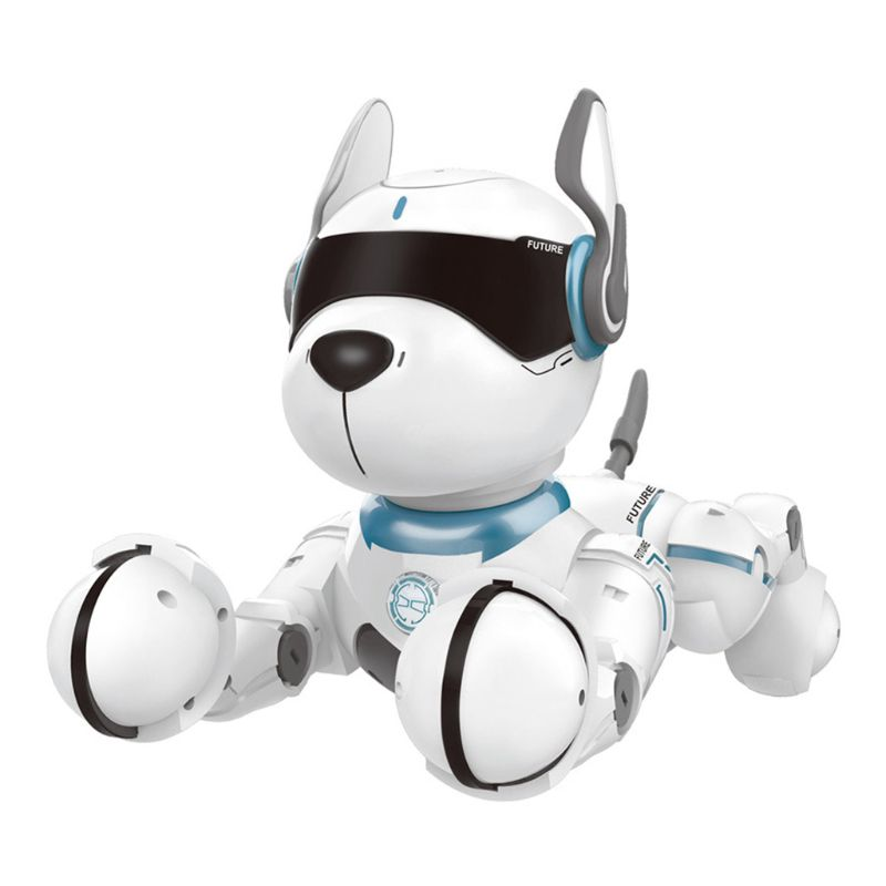 Intelligent Remote Control Robot Dog Early Education Walking And Dancing Interactive Dialogue Pet Dog Voice Control Children Toy