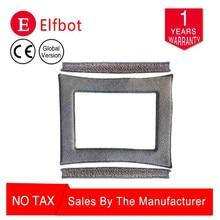 ElfBot ws960 Сменные подушечки, чистящая ткань, смарт-стеклоочиститель, темно-серый набор, включающий обе стороны и среднюю часть