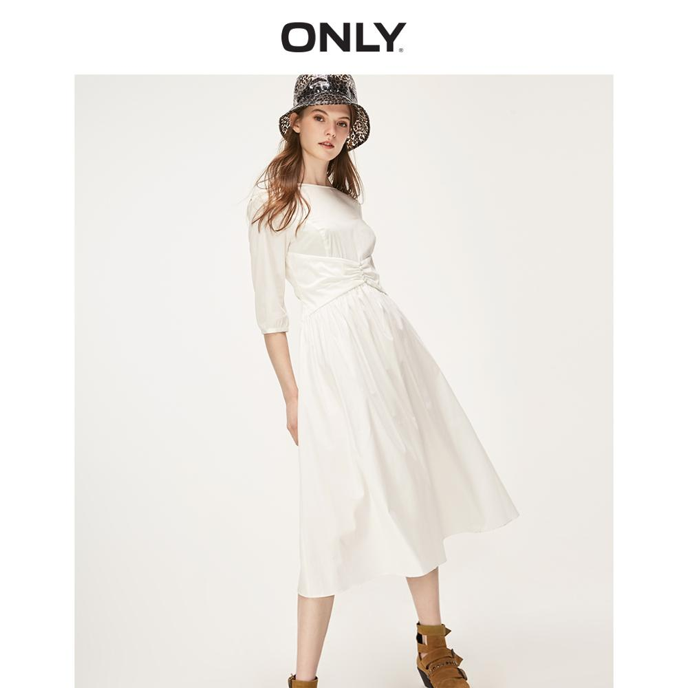 ONLY Women's Cinched Waist Dress | 119107652