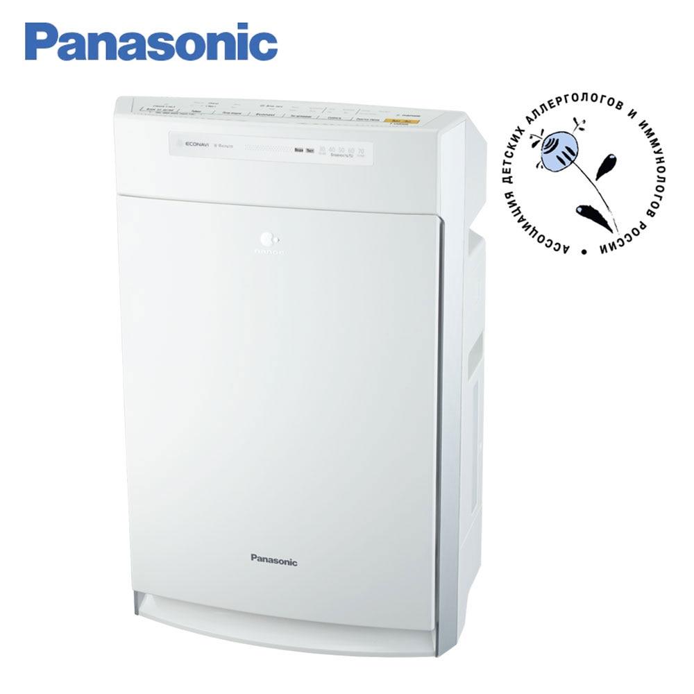 Air Purifiers Panasonic F-VXR50R-W white air-cleaning HEPA Filter Humidification economical ECONAVI nanoe automatic