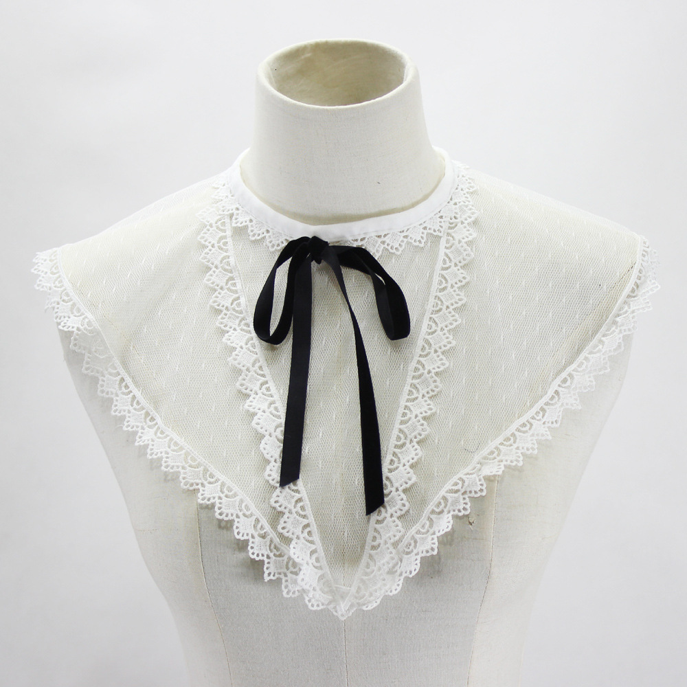 Point Hollow Out Cloth Within Camisole Vest Decoration Summer Woman Fake Collar Detachable New Free Shipping Shirt
