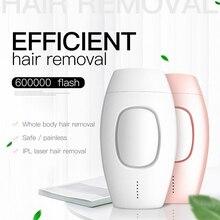 600000 flash professional epilator laser hair removal perman