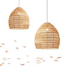 Luzes do Candelabro Quarto Sala de Jantar Do Rattan Do Rattan Arte Rural Criativo Pendurado Luminária Dispositivo Elétrico de Iluminação Da Sala De Chá Japonês