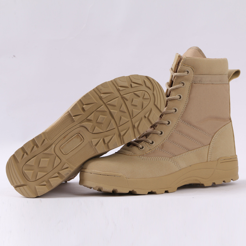 Tactical Military Boots Men Boots Special Force Desert Combat Army Boots Outdoor Hiking Boots Ankle Shoes Men Work Safty Shoes 6