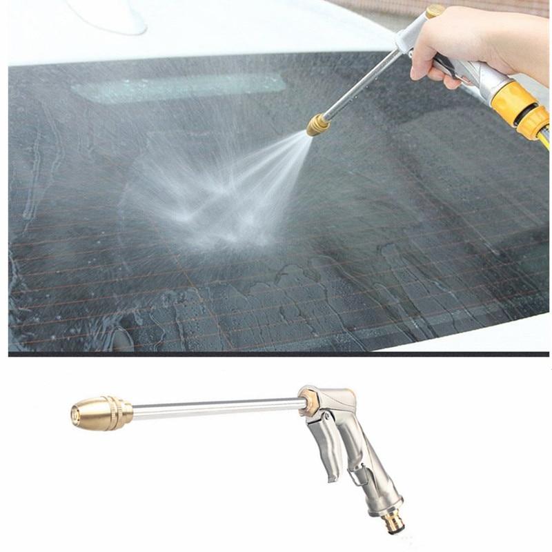 Pistola de agua a presión para jardín, pistola de agua de alta presión, potencia de alta presión, para lavado de coches