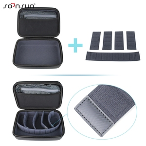 Image 2 - SOONSUN Portable Waterproof Shockproof Protective Storage Case Bag Box for GoPro Hero 9 8 7 6 5 4 for DJI Osmo Action Accessory