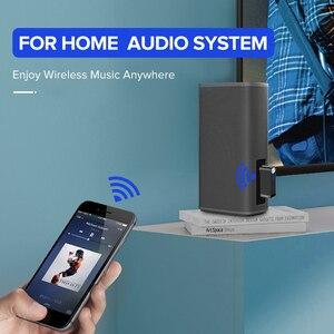 Image 4 - Ugreen Bluetooth Receiver 5.0 Wireless aptX LL 3.5mm Car Aux 3.5 Jack Stereo Adapter Music Headphone Bluetooth Audio Receiver