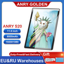 ANRY Tablet S20 11,6 Inch IPS Bildschirm MTK6797T X25 Deca Core 3/4GB RAM 32/64/128GB ROM Android 8,1 Dual Cameral GPS Büro Tablet
