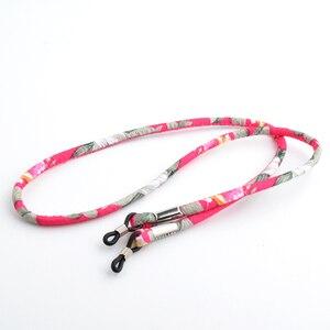 Image 4 - Großhandel 20PCS Ethnische brillen sonnenbrille neck string cord retainer riemen Retro brillen lanyard halter 2 farben erhältlich