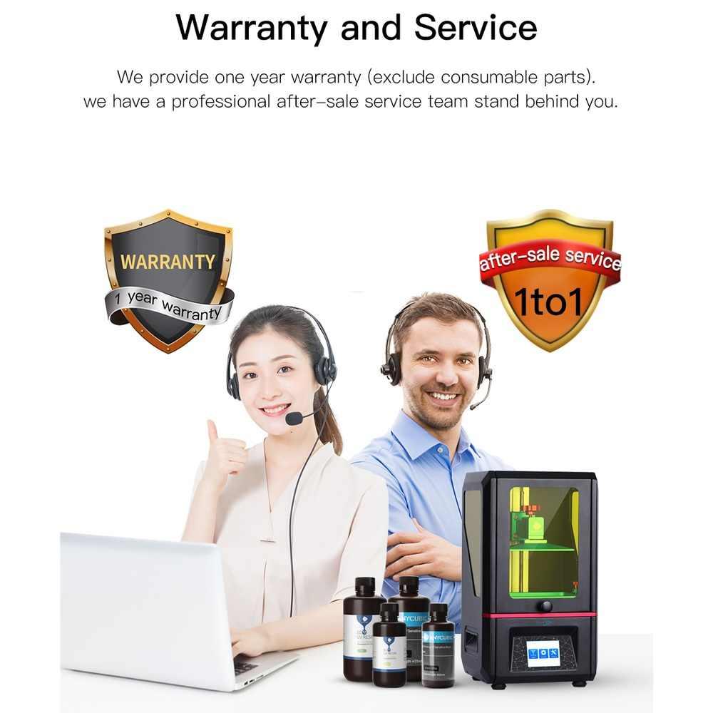 Impresora Anycubic Photon 3D 2019 de talla grande SLA/LCD de alta precisión 2,8 ''fotón rebanador Luz de curado Imprimante Kits 3d