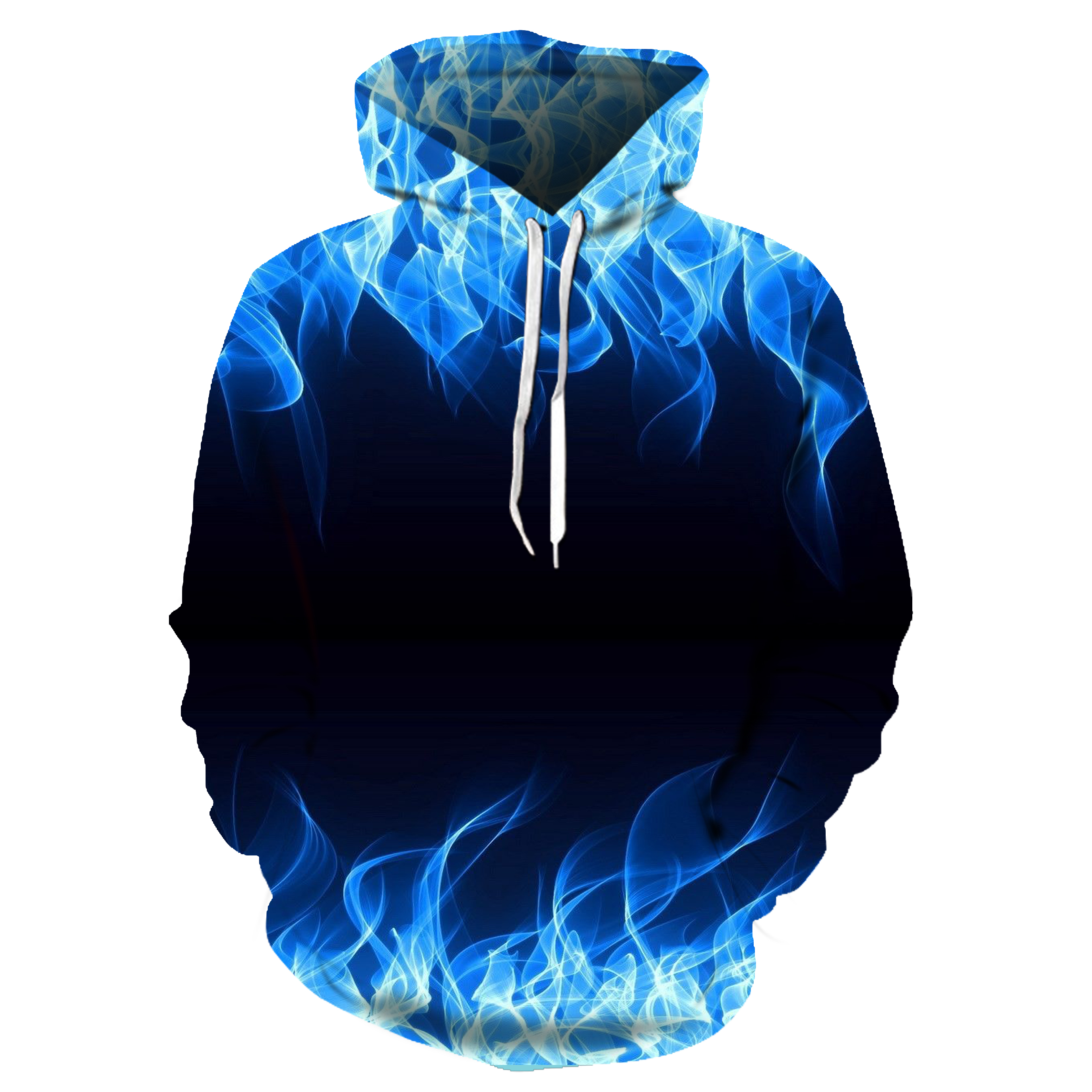 Blue Red  Flame 3d Hoodie Hoodies Men Women 2019 New Fashion Spring Autumn Pullovers Black Sweatshirts Sweat Homme 3D Tracksuit