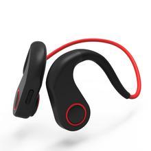 цена на BT-DK Bluetooth Bone Conduction Headset Wireless Noise Cancelling Headphones Call Clear Waterproof Sport Earphone With Mic