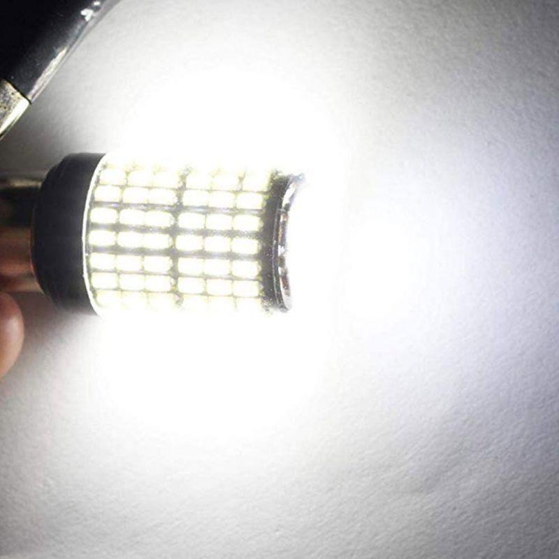 2 шт. T20 7440 W21W 1156 BA15S P21W BAU15 PY21W Автомобильный светодиодный свет сигнальная Поворотная лампа свет задний Реверс лампы задний стоп-сигнал лампы - Испускаемый цвет: BAU15 White