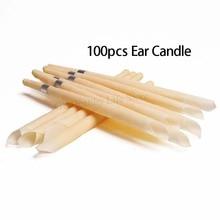 100Pcs Beewax Ear Hopi Candles Ear Wax Removal Tool Indiana