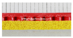 Image 5 - DHS GoldArc 8 / GA8 Table Tennis Rubber (Made in Germany) DHS GoldArc 8 / Gold Arc 8 Original DHS Ping Pong Sponge