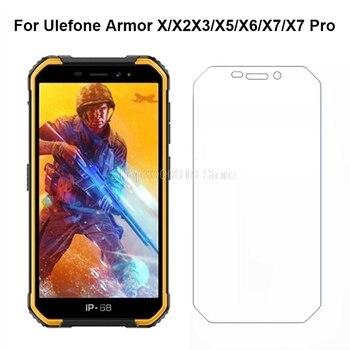 Перейти на Алиэкспресс и купить 2 шт закаленное стекло для Ulefone Armor X6 Взрывозащищенная защитная пленка для экрана для Ulefone Armor X X2 X3 X5 X7 Pro стеклянная крышка для телефона