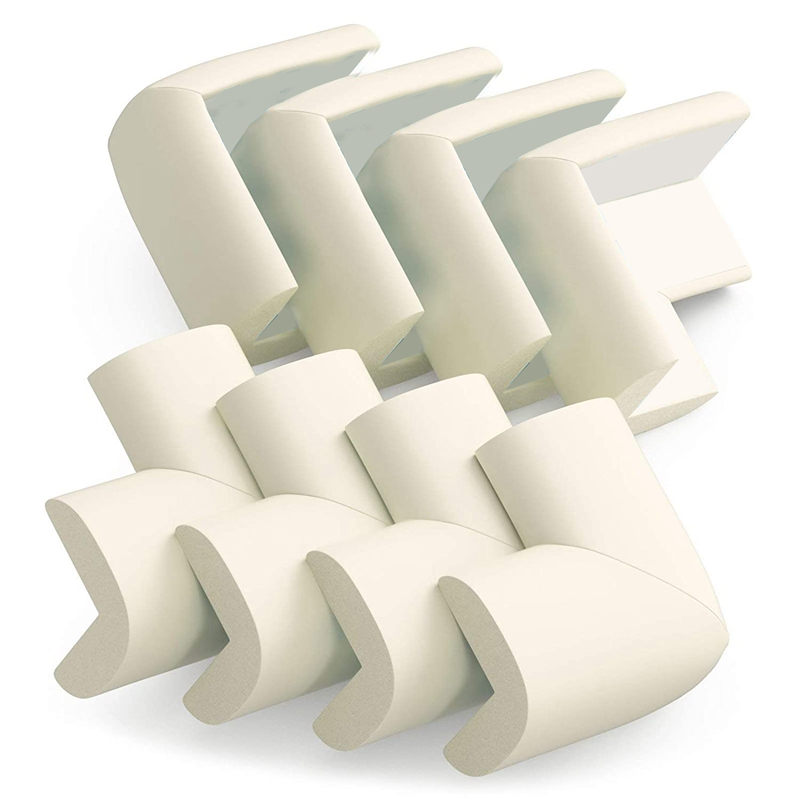 8Pcs Baby Safety Protection Thickened Anti-Collision Corner Table Corner Protective Sleeve Sponge Protection Corner