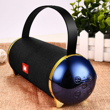 цена на New Soundbar 20W big power speaker portable enceinte bluetooth speaker waterproof spiker boombox 3D stereo music Subwoofer box