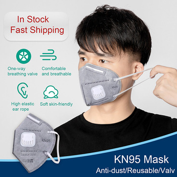 1/5/10/20/50/100pcs KN95 Anti-Fog FFP2 Dust Mask Adult PM2.5 Anti Face Mouth Warm Masks Air Filter Dust Proof Protection
