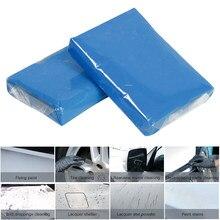 Barra de arcilla para lavar vehículos, herramientas de limpieza, limpiador de rincones del coche, cuidado automático, azul, 100g