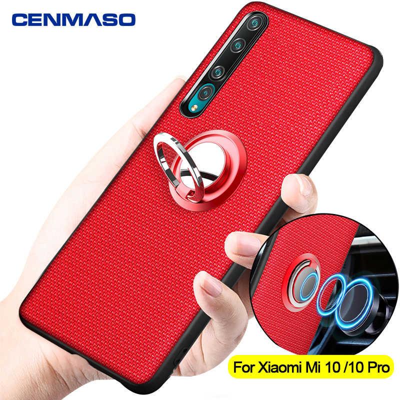 Dành Cho Xiaomi Mi 10 Pro Ốp Lưng Cho Xiaomi Mi 9T Redmi Note 8 8T 7 K20 K30 Pro ốp Lưng Ô Tô Từ Đứng Vòng Chống Sốc Lưng