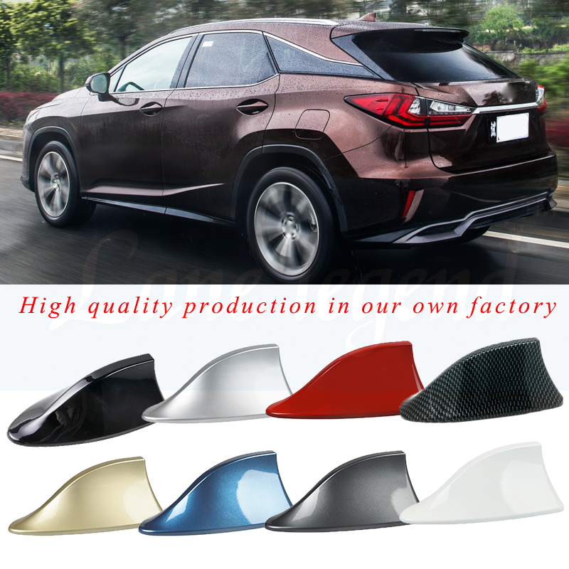 Car Shark Antenna Auto Radio Signal Aerials Accessories for Lexus IS350 IS250 IS200 IS300 RX350 <font><b>RX250</b></font> RX330 GS300 GS350 GS400 image