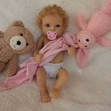 2020 11'' AVANI DOLL Full Body Vinyl Mini Baby Doll Girl Reborn Baby Doll