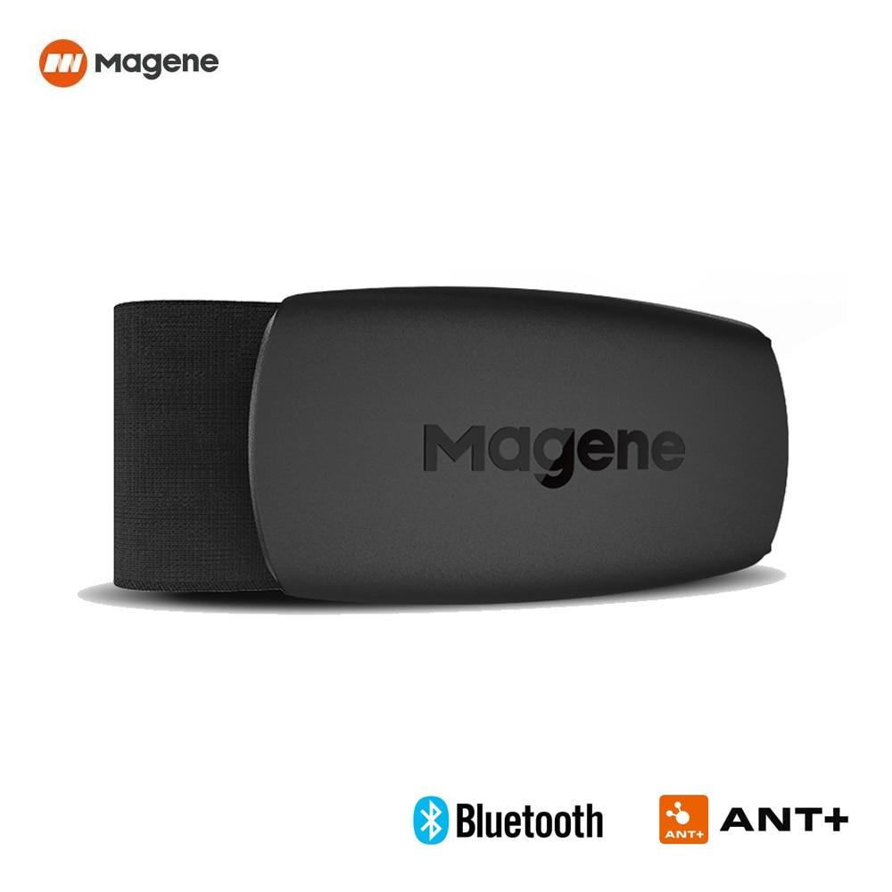 Heart Rate Monitor Chest Strap Band Magene Bluetooth ANT Sport Fitness Heart Rate Sensor Belt Compatible Garmin Bryton IGPSPORT