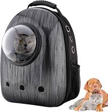 Cat & Small Dog Backpack Carrier, Airline Approved Space Capsule, Waterproof Breathable Designed for Travel, Hiking&Outdoor