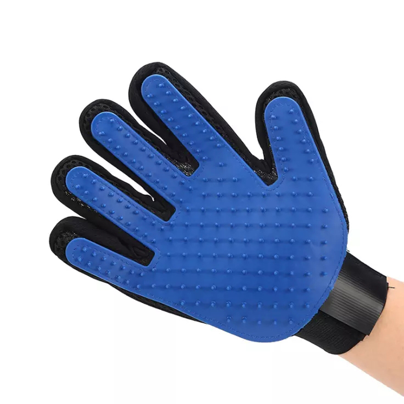 Silicone Pet Dog Hair Brush Comb Glove For Pet Cleaning Massage Grooming Supply Glove Cleaning Cat Hair Glove Accessoies