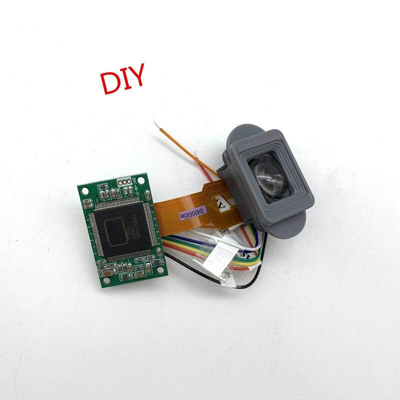 Вход AV-сигнала, устройство ночного видения «сделай сам», FPV дисплей, Видоискатель HD VGA, микро-дисплей