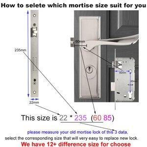 Image 4 - RAYKUBE Wifi elektroniczny zamek do drzwi z aplikacją Tuya zdalnie/biometryczny odcisk palca/karta inteligentna/hasło/klucz odblokuj FG5 Plus