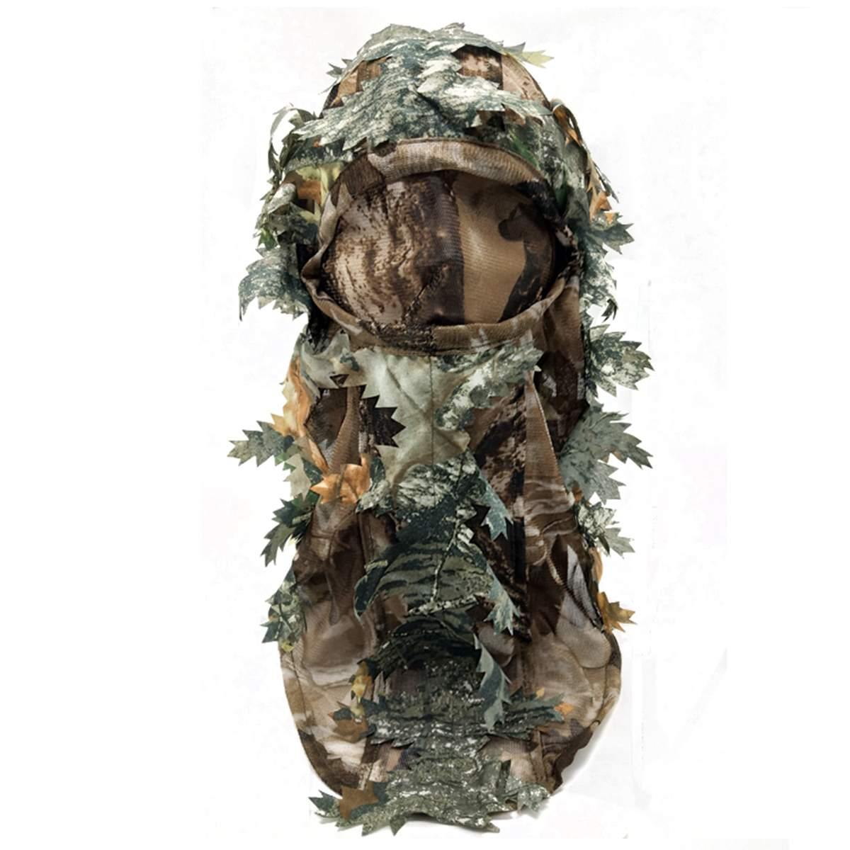 3D Leaf Gloves Full Face Camouflage Mask Fishing Hunting Keep Warm Hunting Camping Cycling Outdoor Sport <font><b>Jungle</b></font> Hiking image