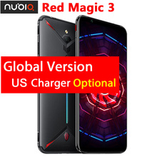 "Original ZTE nubia Red Magic 3 US Charger 6.65"" Snapdragon 855 Octa core Front 48MP Rear 16MP 8GB 128GB 5000mAh Mobile Phone"