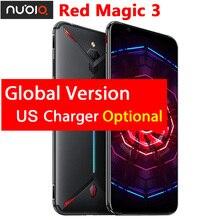 "Original ZTE nubia magia roja 3 cargador para EUA 6,65 ""Snapdragon 855 Octa core frente 48MP trasero 16MP 8GB 128GB del teléfono móvil 5000mAh"