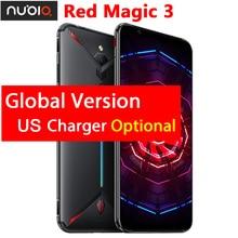 """Originale ZTE Nubia Magia Rossa 3 Caricatore Degli Stati Uniti 6.65 """"Snapdragon 855 Octa Core Anteriore 48MP Posteriore 16MP 8 Gb 128 Gb 5000 Mah Del Telefono Mobile"""
