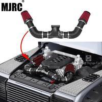 محاكاة محرك كمية الهواء مجموعة مرشح ل 1/10 RC الزاحف سيارة Traxxas TRX4 المدافع برونكو محوري Scx10 II 90046 D90 DD10-في قطع غيار وملحقات من الألعاب والهوايات على