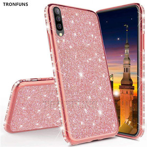 Diamond Bling Glitter Case For Xiaomi Redmi Note 7 Pro Phone Cases Soft TPU Case Capa For Xiaomi Redmi Note 7 Pro 7A Cover Shell(China)