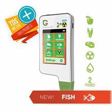 Greenest ECO 5F Новинка! Высокая точность пищевых продуктов, мяса, рыбы нитрат тестер, воды TDS, детектор излучения радиации greentest нитратомер нитратомер для овощей и фруктов нитрат тестер измеритель нитратов