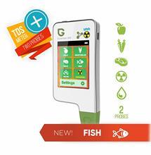 Greentest eco5f 3 in 1 가정용 디지털 방사선 검출기 + tds 워터 테스터 + 야채, 과일, 육류 및 생선 용 질산염 테스터 건강식품