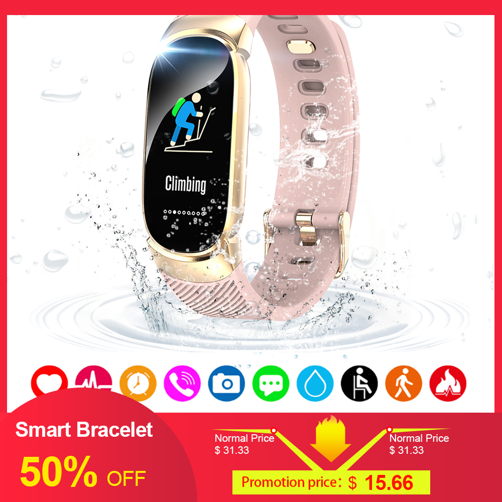 Professional Waterproof BT 4.0 Wireless Sport Tracker Blood Pressure Heart Rate Monitor Fitness ANT Smart Sensor For Cell Phone