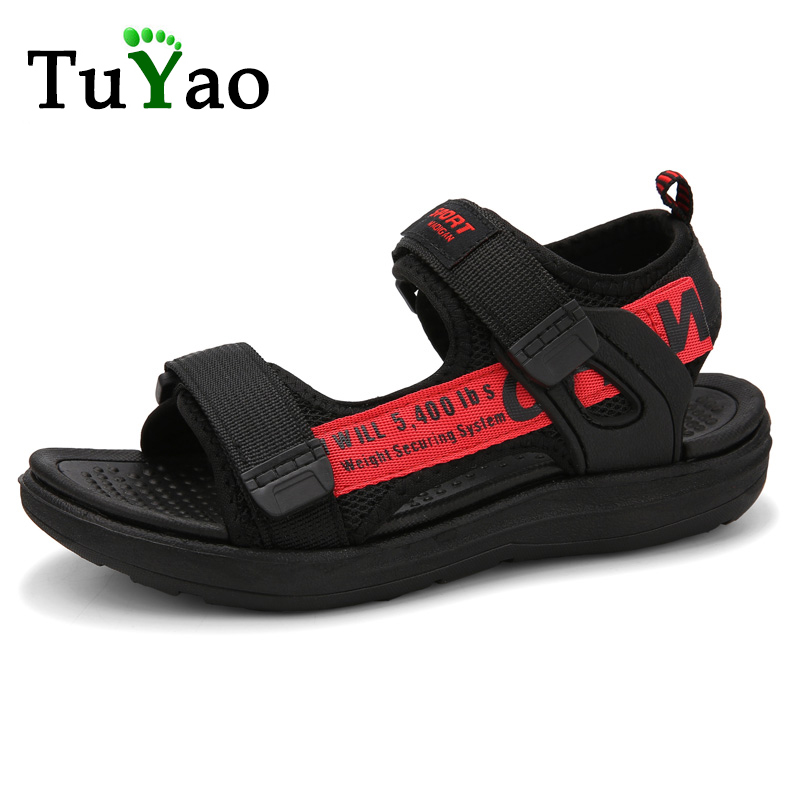 Fashion Boys & Girls Summer Lightweight Sandals Kids Sports Sandals Soft Comfortable Children Beach Shoes Hot Sale Size 28-41