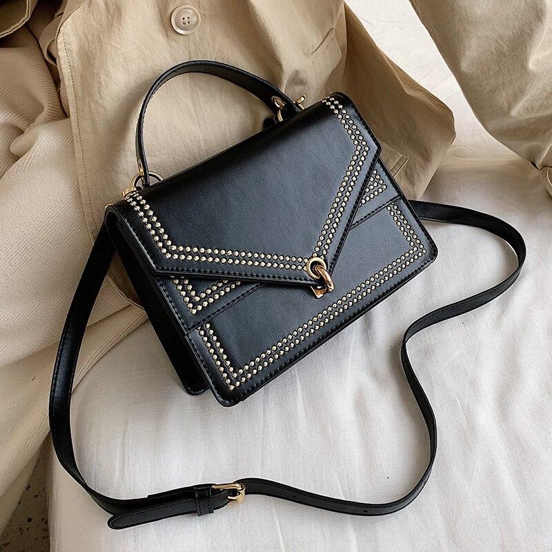 Small PU Leather Crossbody Bags For Women 2019 Embroidery Designer Shoulder Messenger Bag Female Travel Handbags