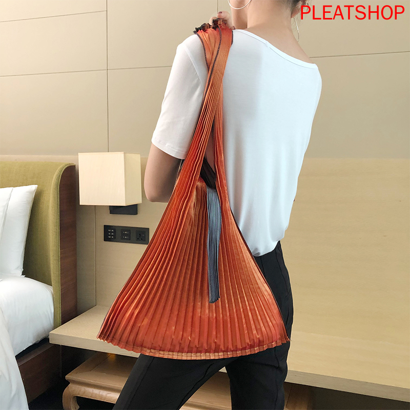 Handbags MIYAKE Style Main Material Pattern Shape Interior Lining Model Number Closure DecoratioN Free Shipping
