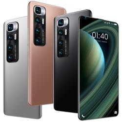 Смартфоны M10 ультра 8 Гб Оперативная память 256 ГБ Встроенная память 7,2 дюймов Andriod10 Wi-Fi 10-ядерный MTK6889 с двумя сим-картами 4 аппарат не привязан ...